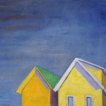 #1060 Two Yellow Bungalows