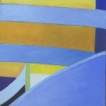 #1144 Yellow and Blue Stripes